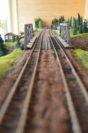 Auf 15 Metern können Züge durch unterschiedliche Landschaften rollen.