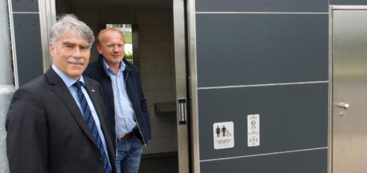 Neue Toilette in Verden, Foto: Bruns