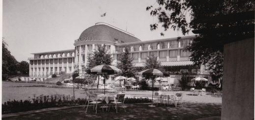 Ein historischer Blick auf das Park Hotel Foto: Park Hotel