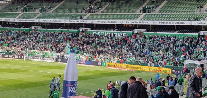 Im Weserstadion füllen sich jetzt die Ränge. Foto: Kuhl