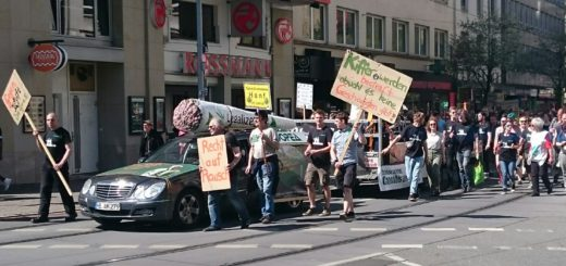 "Der ""Global Marihuana March"" in Bremen. Foto: WR"