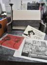 Die Druckgrafik ist ein eigenständiges künstlerisches Ausdruckmittel. Foto: Konczak