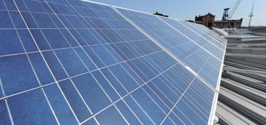 Solaranlage Bremen, Foto: WR