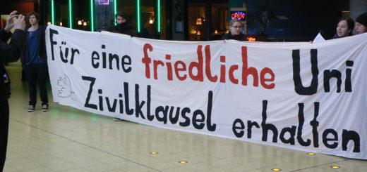 Kampf für den Erhalt der Zivilklausel in Bremen - 2