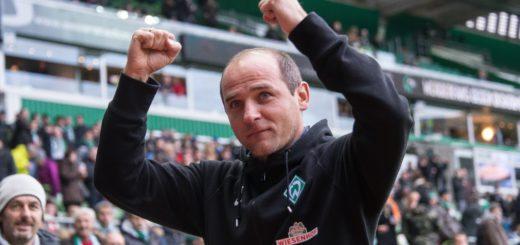Viktor Skripnik schaffte in der vergangenen Saison am letzten Spieltag den Klassenerhalt mit Werder. Foto: Nordphoto