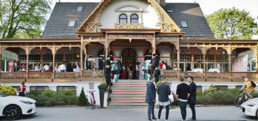 Die Meierei im Bürgerpark: Hier feierten am Donnerstagabend fast 400 Gäste. Foto: Barth