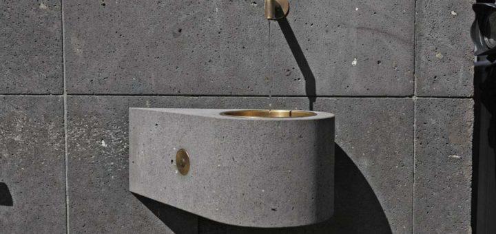 Der neue Trinkwasserbrunnen an der Kirche Unser Lieben Frauen, Foto: Barth