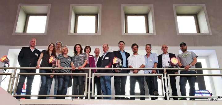 Die Gewinner des Ideenwettbewerbs im Neustädter Bahnhof. Foto: Schlie