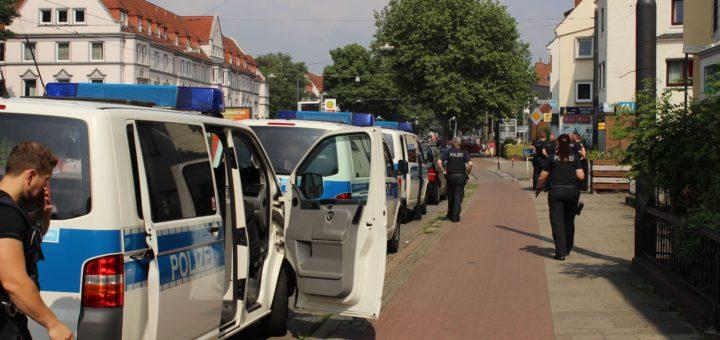 Großrazzia der Bundespolizei, Foto: Bundespolizei