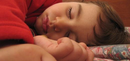 Nicht alle Bremer können wegen Schlafstörungen so gut schlafen, wie dieses Kind. Foto: A. Zangrilli