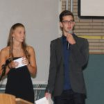 Carolin Schliephake und Paul Jacobsen moderierten die Veranstaltung. Foto: Möller