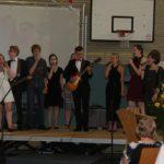 Die Schulband sorgte für einen musikalischen Rahmen. Foto: Möller