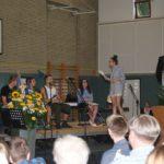 Auch szenische Darstellungen der Schüler standen auf dem Programm. Foto: Möller