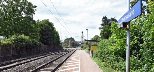 Die Bahnsteige in Oberneuland sollen verlängert werden. Foto: Schlie