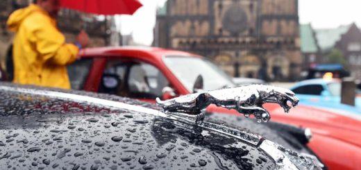 Bremen Oldtimer Classics im Regen. Foto: Schlie