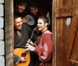 """Für die noch junge Band Eulental ist der Besuch bei """"Graf Gerds Stadtgetümmel"""" eine Premiere. Foto: pv"""