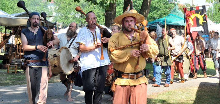 Auch die Musiker von Rabengesang sind beim 8. Stadtgetümmel am 2. und 3. Juli wieder mit dabei.Foto: Konczak
