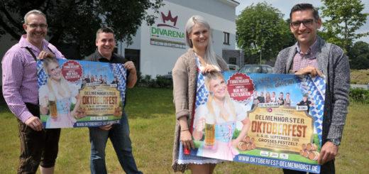 Das Team der Divarena lädt auch in diesem Jahr wieder zur großen Wiesn-Gaudi in das Festzelt am Neuen Deichhorst ein.Foto: Konczak