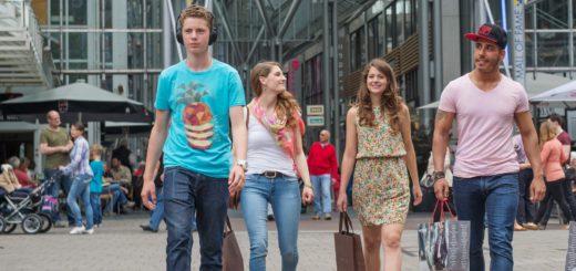 Verkaufsoffener Sonntag in der City. Foto: CityInitiative Bremen