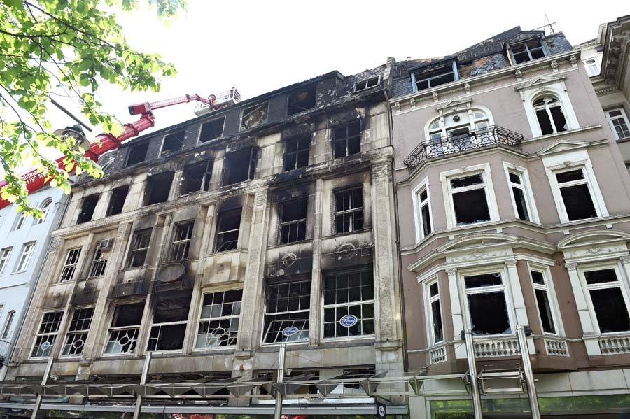 Harms Bremen was die brandermittler in der harms ruine fanden weserreport de