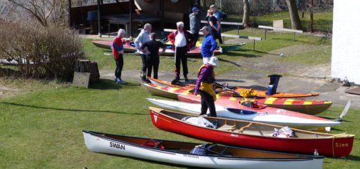 Boote werden von den Kanuwanderern gestellt. Foto: pv