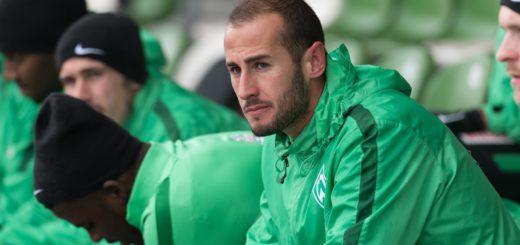In der vergangenen Saison absolvierte Galvez 21 Ligaspiele für Werder, davon elf über die volle Distanz. Foto: Nordphoto