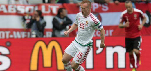 Werder-Profi László Kleinheisler soielte beim Sieg der Ungarn gegen Österreich groß auf. Foto: Nordphoto