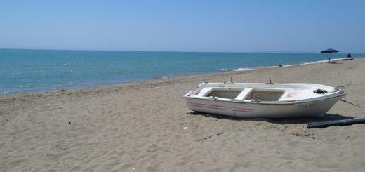 Badespaß im Ionischen Meer. Das Wasser an den Stränden des Westpeloponnes und den gegenüberliegenden Inseln ist kristallklar.Foto Sieler