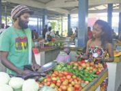 Mittwochs und samstags ist Markt in der Inselhauptstadt Port Mathurin.Foto: Kaloglou