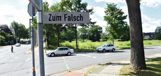 Zum Falsch/Thalenhorststraße soll das Übergangswohnheim Haberloher Straße entstehen. Foto: Schlie