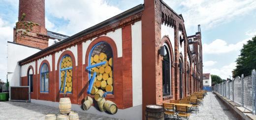 Wandbild Union Brauerei