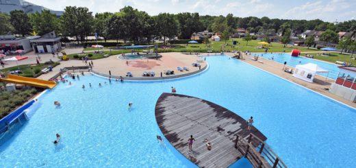 Das Schloßparkbad ist vor 60 Jahren eröffnet worden. Foto: Schlie