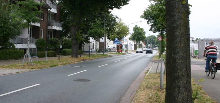 Auf der Hemelinger Heerstraße ist viel los. Foto: Neloska