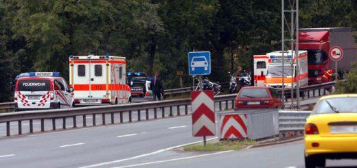 Verkehrsunfall B 75, Verkehrstote Symbolbild /WR