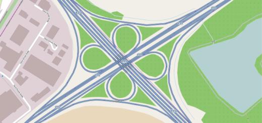 Bremer Kreuz, Karte, A1, A27, Foto: wikimedia