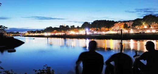 Breminale am Weserufer, Foto: Schlie
