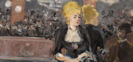 """Ausschnitt aus dem Werk """"Die Bar in den Folies-Bergère"""" von Édouard Manet (1832–1883), das in der Kunsthalle Hamburg zu sehen ist. Foto: Kunsthalle Hamburg"""