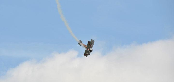 Auch heute noch kann man sich auf den Jet-Flugtagen in Ganderkesee amüsieren. Foto: Konczak