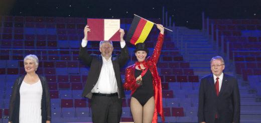 DSC_1729 Sara Dähn und Thomas Blaeschke Gold Preisverleihung