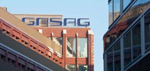 Das Gasag-Hauptgebäude in Berlin. Foto: Gasag