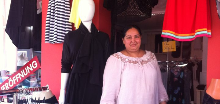 Navida Kauser hat gerade erst einen Modeladen eröffnet. Foto: WR