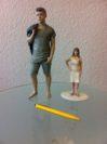 Figuren aus der 3-D-Druckerei an der Kirchhuchtinger Landstraße
