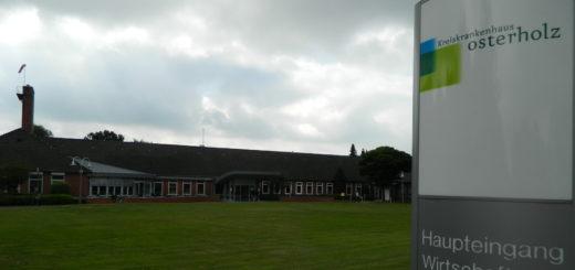 Beim Kreiskrankenhaus Osterholz freut man sich über ein sehr gutes Abschneiden im Rahmen einer Patientenbefragung. Foto: Bosse