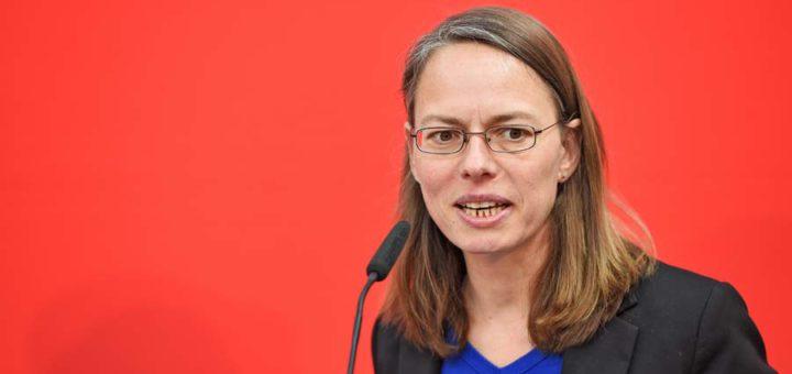 SPD-Landeschefin Sascha Karolin Aulepp. Foto: Schlie
