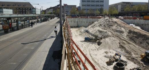Die Gleise A und B vor dem Bremer Hauptbahnhof sollen wieder freigegeben werden. Foto: Barth