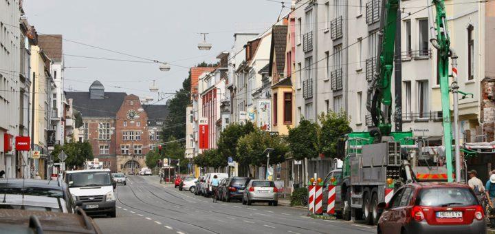 Der Buntentorsteinweg gehört zu den größten Straßen der Neustadt. Foto: Barth