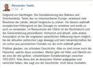 Der Facebook-Post von Alexander Tassis. Foto: Screenshot