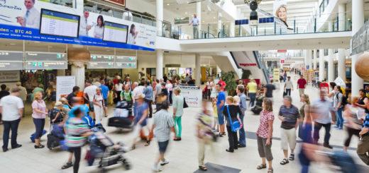Flughafen Ankunftshalle