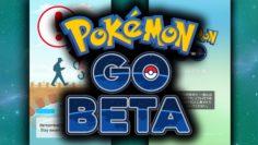 Startbildschirm der Beta-Version von Pokémon-Go. Foto: PokeBallerLuke / Youtube