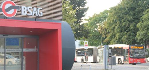Die Bremer Straßenbahn AG ist vom Verkehrsressort beauftragt worden, das Busliniennetz in Bremen-Nord zu überprüfen. Die Pläne sehen auch Linieneinstellungen vor.Foto: Füller